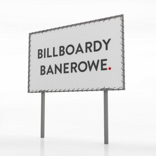 Billboard banerowy - 600x300 cm
