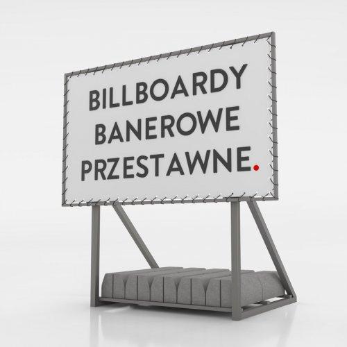Billboard banerowy przestawny - 600x300