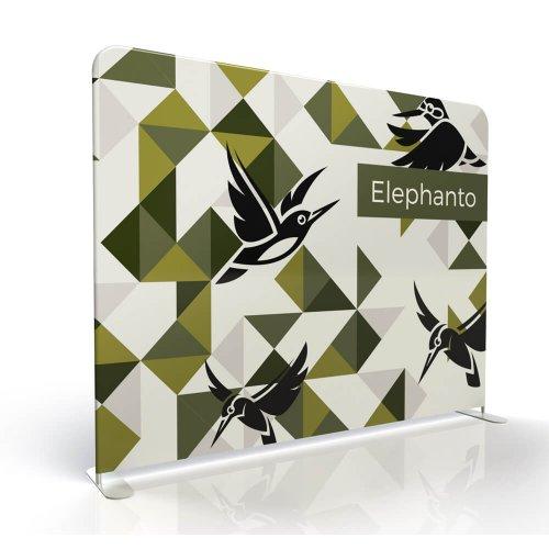 Ścianka prezentacyjna ELEPHANTO 240 cm