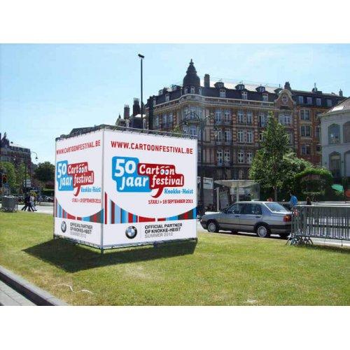 Kostka reklamowa Klemp Kubik 150x150x400 cm