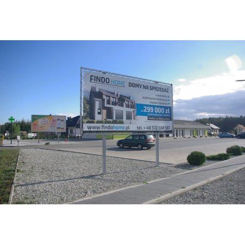 Billboard banerowy - 500x250 cm