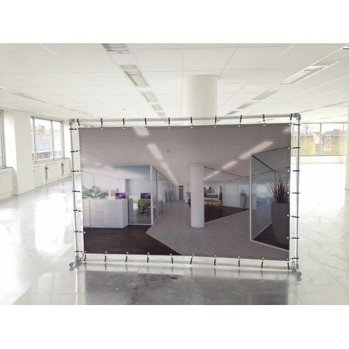 Ścianka banerowa prosta 200x200 cm