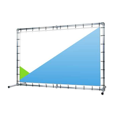 Ścianka banerowa prosta 300x250 cm